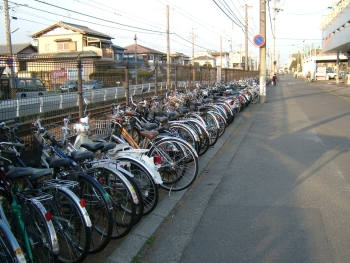 草薙駅前東駐輪場