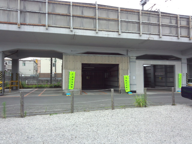 草薙駅北駐輪場