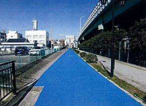 自転車歩行者専用道路